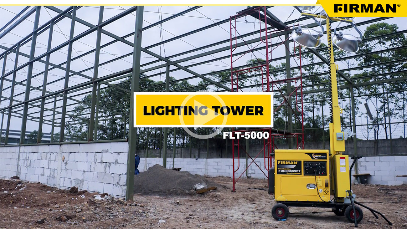FIRMAN Diesel Light Tower FLT5000